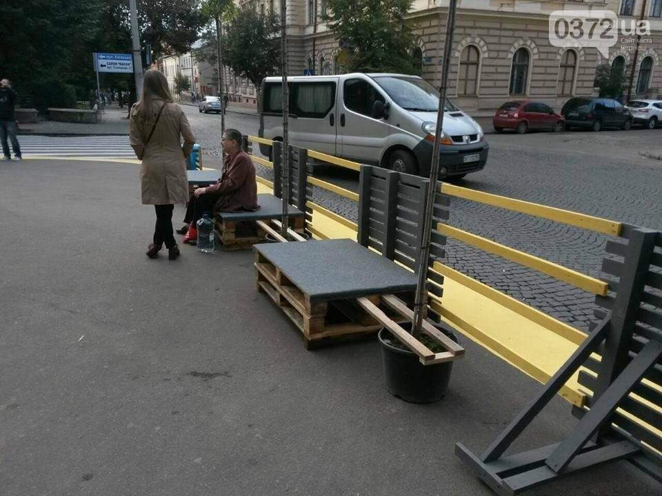 У центрі  Чернівців з'явилася нова зона відпочинку, фото-2