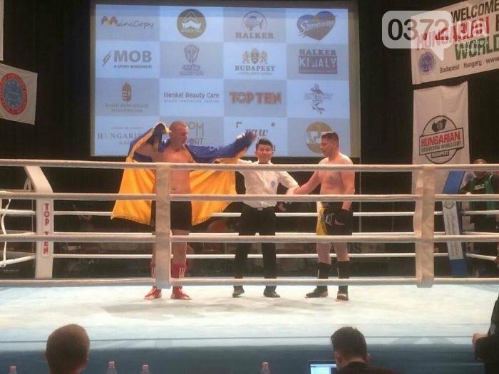 Буковинець став чемпіоном Європи з кікбоксингу, фото-1