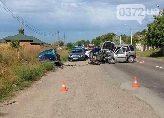 ДТП У Чернівцях: постраждали жінка та 2-річна дитина, фото-1
