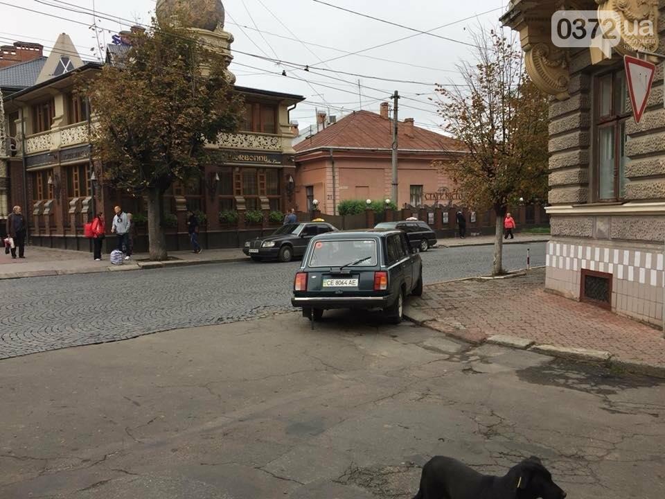 """Як паркуються """"культурні"""" чернівчани? (ФОТО), фото-5"""