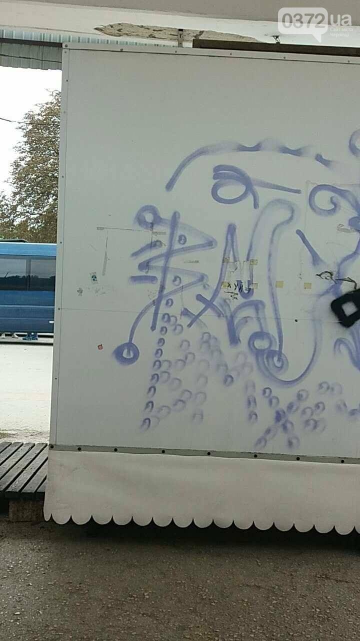 Місця для пасажирів на Кельменецькому автовокзалі нахабно захопив підприємець (фото), фото-3