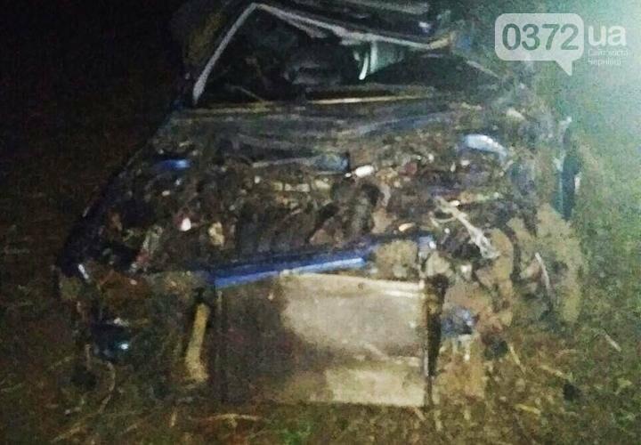 На Буковині ДТП: 19-річний водій на єврономерах потрощив та перекинув авто (фото), фото-2