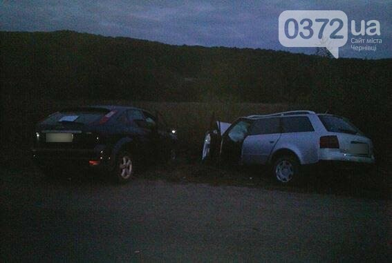 На Буковині зіткнулися «Форд» і «Ауді А6» (фото), фото-3