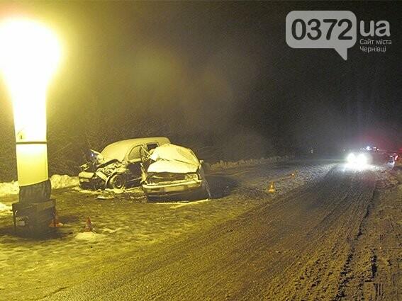 На Буковині зіткнулися два автомобілі на єврономерах - загинув чоловік, фото-2