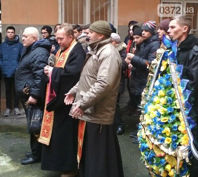 У Чернівцях прощалися з учасником АТО, який загинув під час пожежі (Фото), фото-1