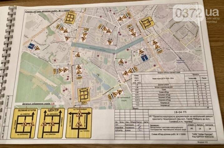 У Чернівцях розпочали капітальний ремонт однієї з найбільших вулиць у місті (схеми проїзду), фото-1