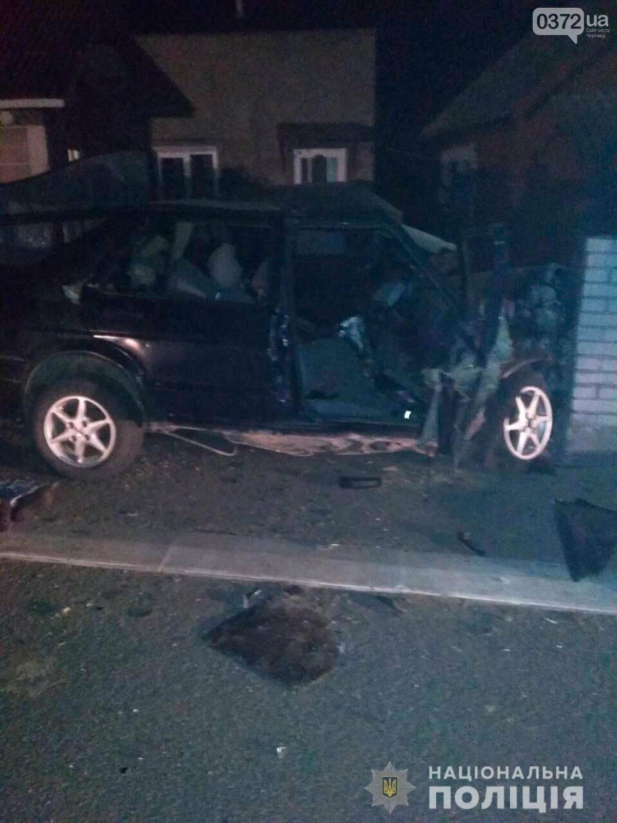 Внаслідок нічної ДТП на Буковині загинув чоловік: на перехресті доріг зіткнулись два автомобіля, фото-1