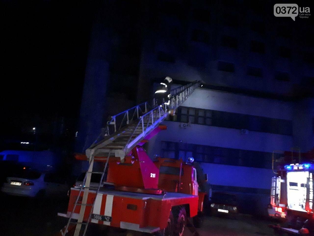 """У Чернівцях трапилась пожежа в """"Черемоші"""": деталі від поліції, фото-1"""