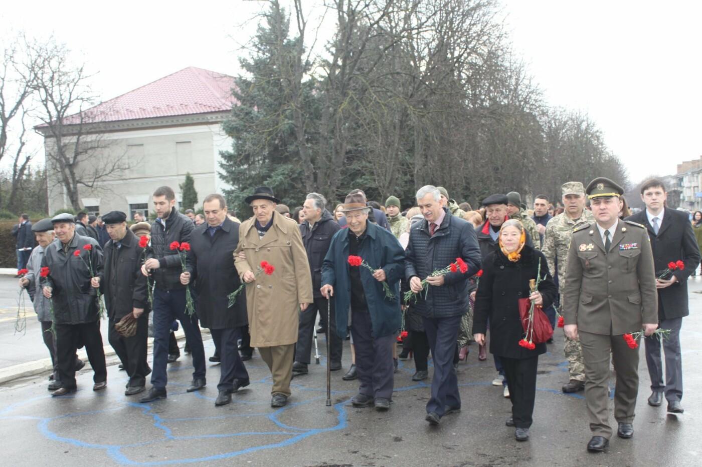 На Сокирянщині відзначили 75-ту річницю визволення від нацистів, фото-1