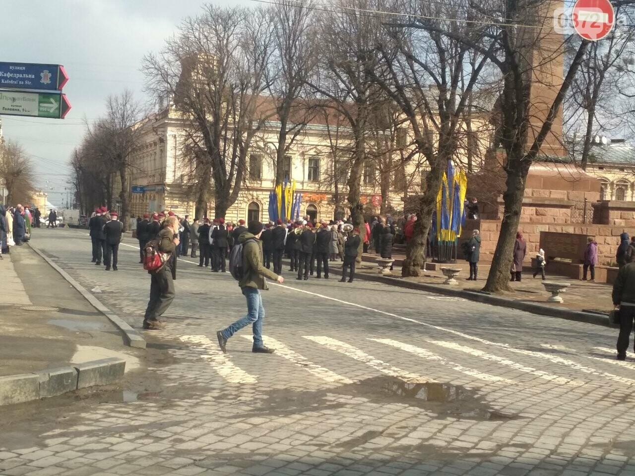 В Чернівцях вшанували пам'ять воїнів-визволителів , фото-1
