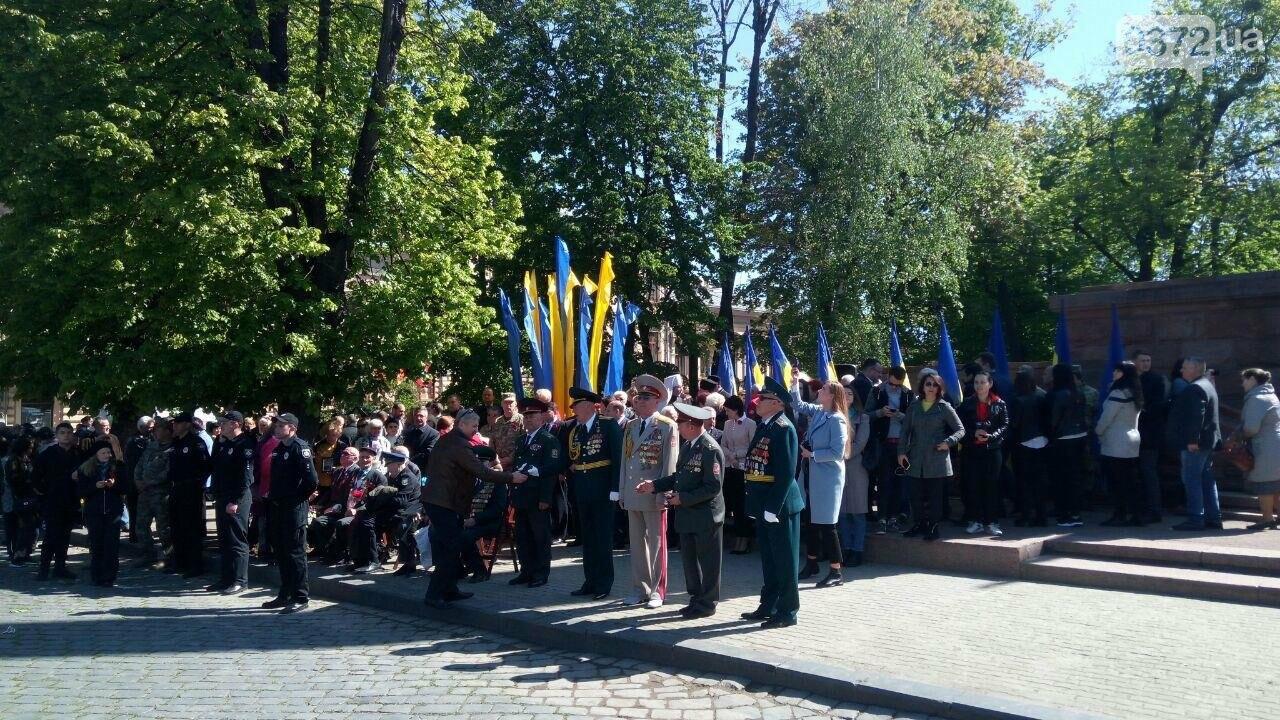 В Чернівцях вшанували пам'ять загиблих воїнів в Другій світовій війні (ФОТО), фото-6