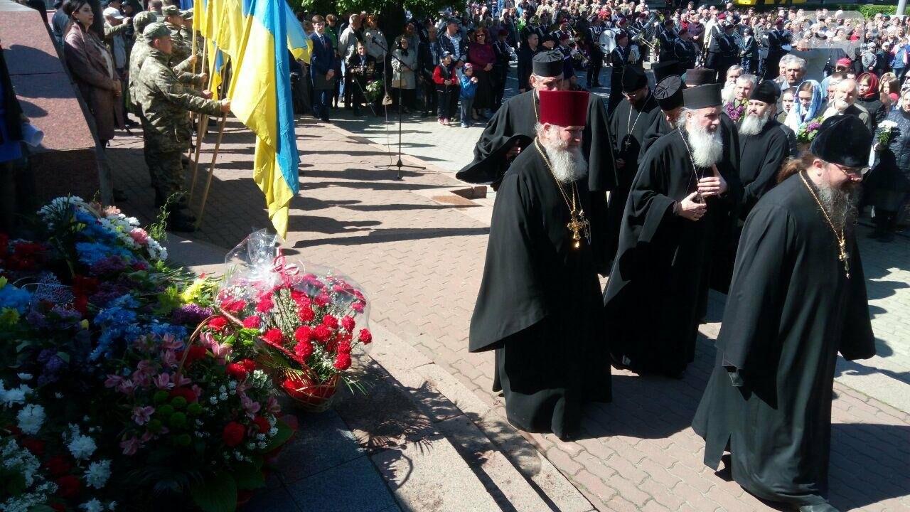 В Чернівцях вшанували пам'ять загиблих воїнів в Другій світовій війні (ФОТО), фото-9