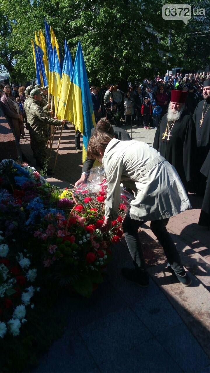 В Чернівцях вшанували пам'ять загиблих воїнів в Другій світовій війні (ФОТО), фото-11