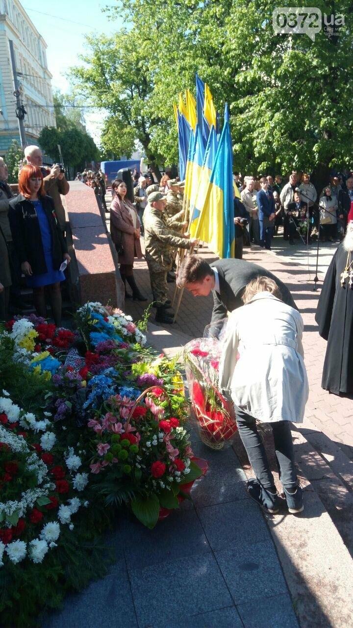 В Чернівцях вшанували пам'ять загиблих воїнів в Другій світовій війні (ФОТО), фото-12