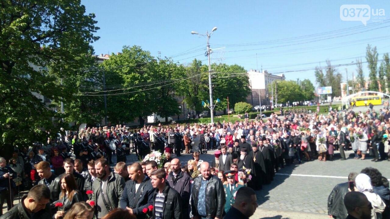 В Чернівцях вшанували пам'ять загиблих воїнів в Другій світовій війні (ФОТО), фото-18