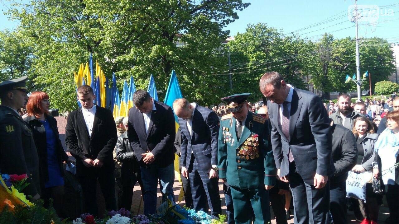 В Чернівцях вшанували пам'ять загиблих воїнів в Другій світовій війні (ФОТО), фото-23