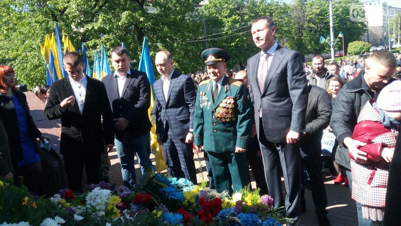 В Чернівцях вшанували пам'ять загиблих воїнів в Другій світовій війні (ФОТО), фото-24