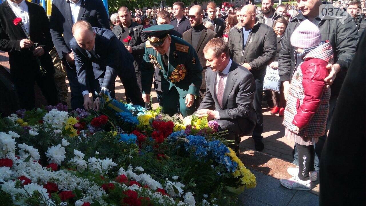 В Чернівцях вшанували пам'ять загиблих воїнів в Другій світовій війні (ФОТО), фото-26