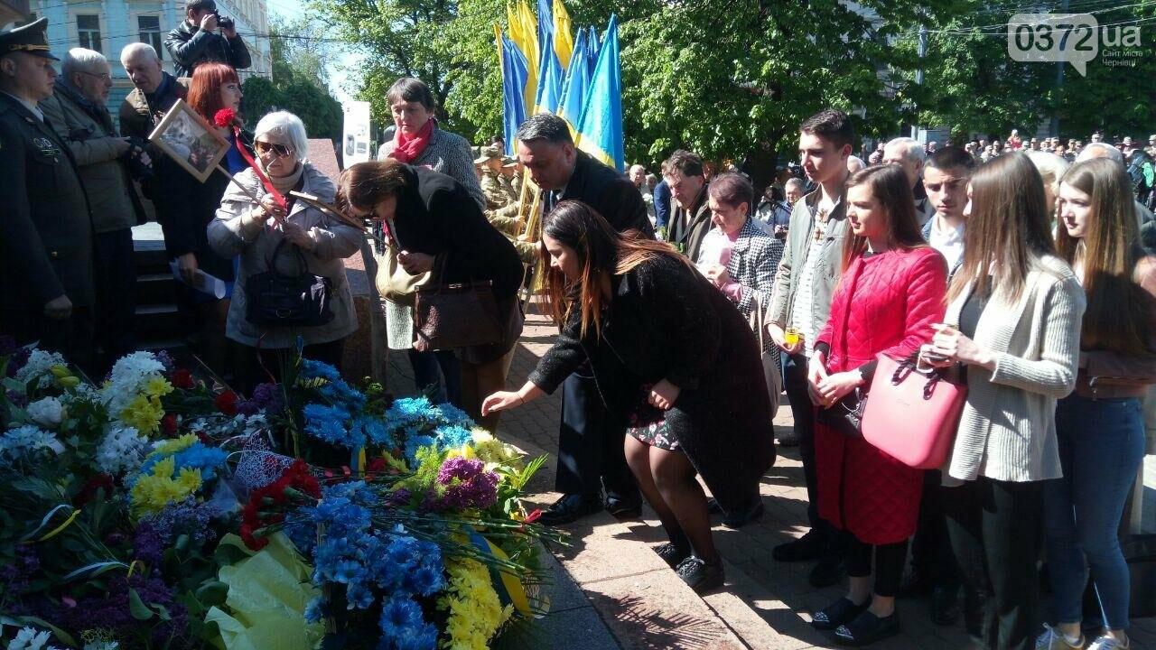 В Чернівцях вшанували пам'ять загиблих воїнів в Другій світовій війні (ФОТО), фото-31