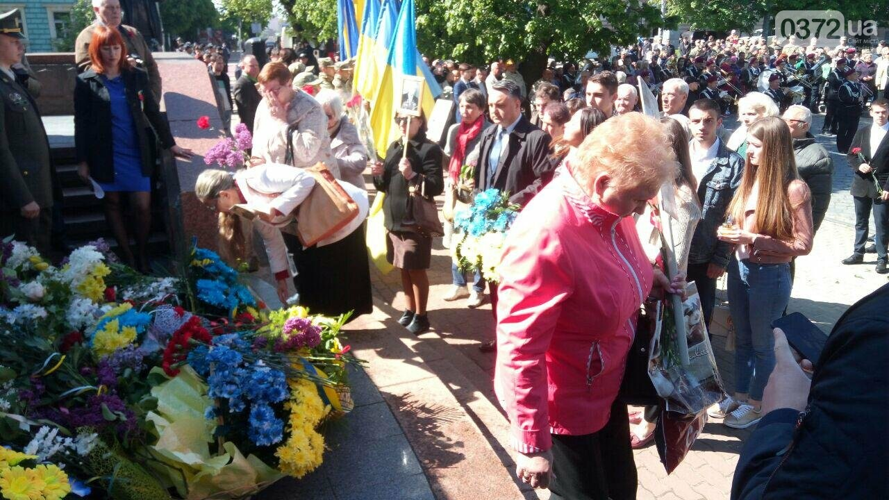 В Чернівцях вшанували пам'ять загиблих воїнів в Другій світовій війні (ФОТО), фото-32