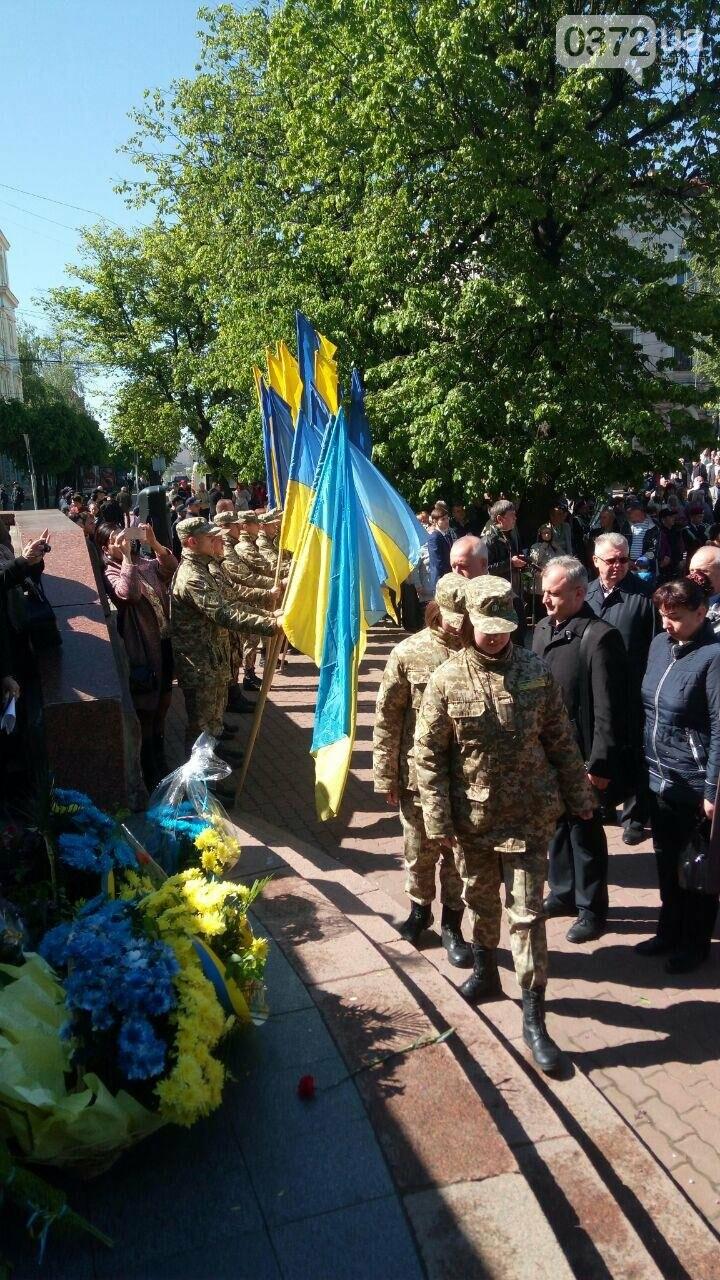 В Чернівцях вшанували пам'ять загиблих воїнів в Другій світовій війні (ФОТО), фото-40