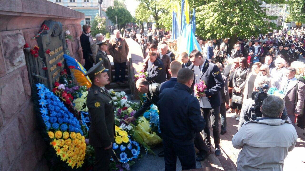В Чернівцях вшанували пам'ять загиблих воїнів в Другій світовій війні (ФОТО), фото-43