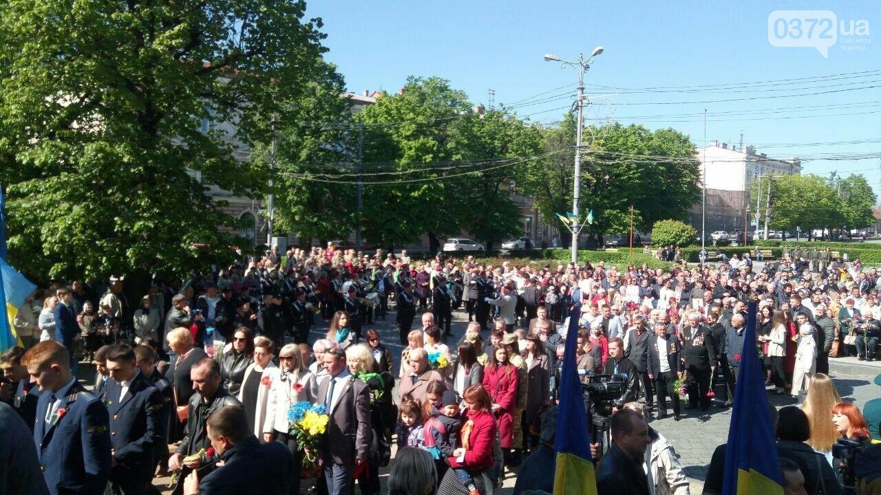 В Чернівцях вшанували пам'ять загиблих воїнів в Другій світовій війні (ФОТО), фото-44