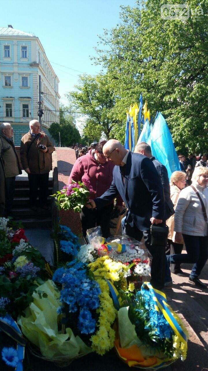 В Чернівцях вшанували пам'ять загиблих воїнів в Другій світовій війні (ФОТО), фото-48