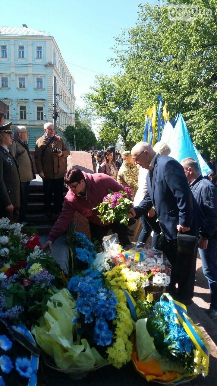 В Чернівцях вшанували пам'ять загиблих воїнів в Другій світовій війні (ФОТО), фото-49