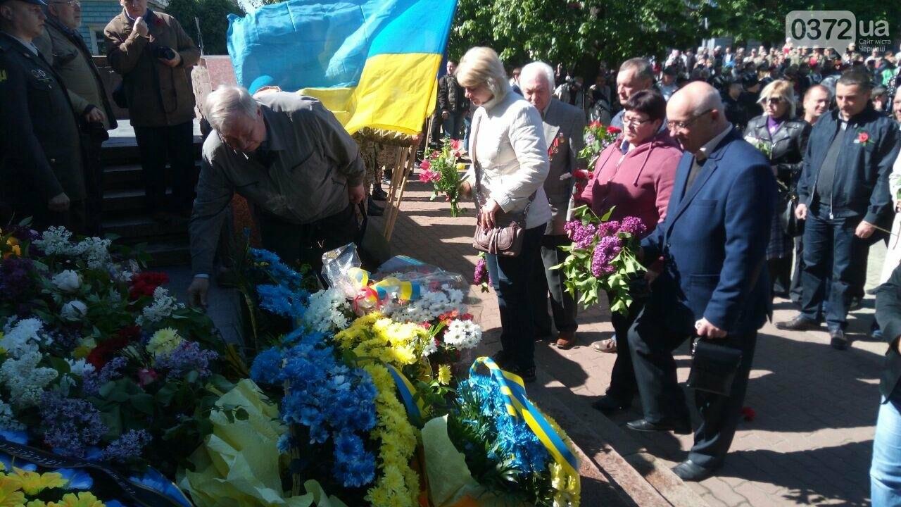 В Чернівцях вшанували пам'ять загиблих воїнів в Другій світовій війні (ФОТО), фото-52