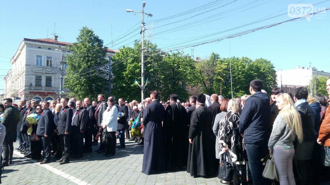 В Чернівцях вшанували пам'ять загиблих воїнів в Другій світовій війні (ФОТО), фото-59