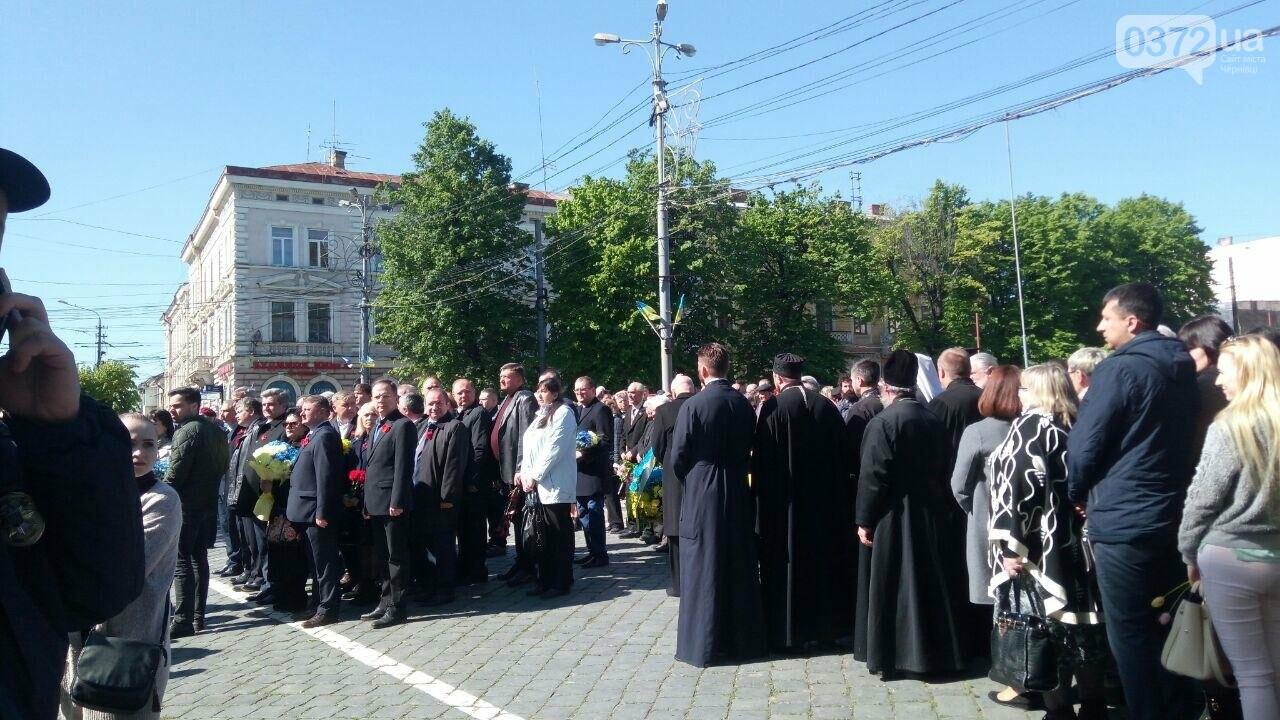 В Чернівцях вшанували пам'ять загиблих воїнів в Другій світовій війні (ФОТО), фото-60