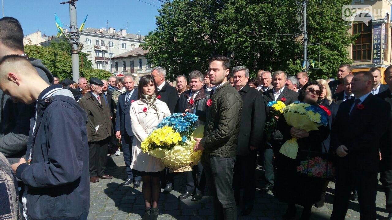 В Чернівцях вшанували пам'ять загиблих воїнів в Другій світовій війні (ФОТО), фото-63