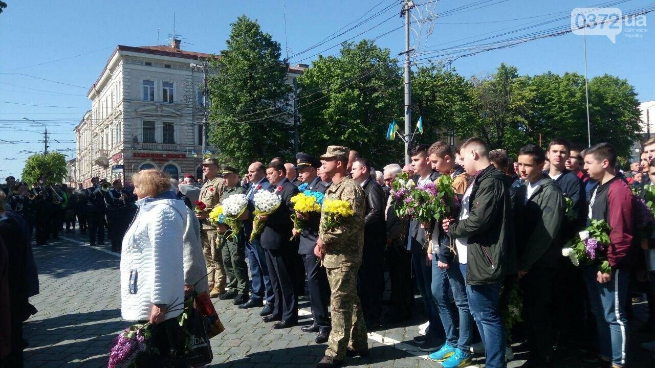 В Чернівцях вшанували пам'ять загиблих воїнів в Другій світовій війні (ФОТО), фото-65