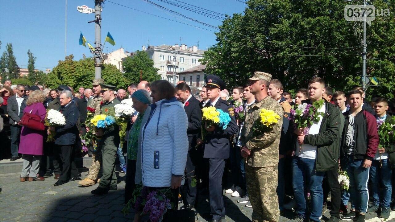 В Чернівцях вшанували пам'ять загиблих воїнів в Другій світовій війні (ФОТО), фото-73