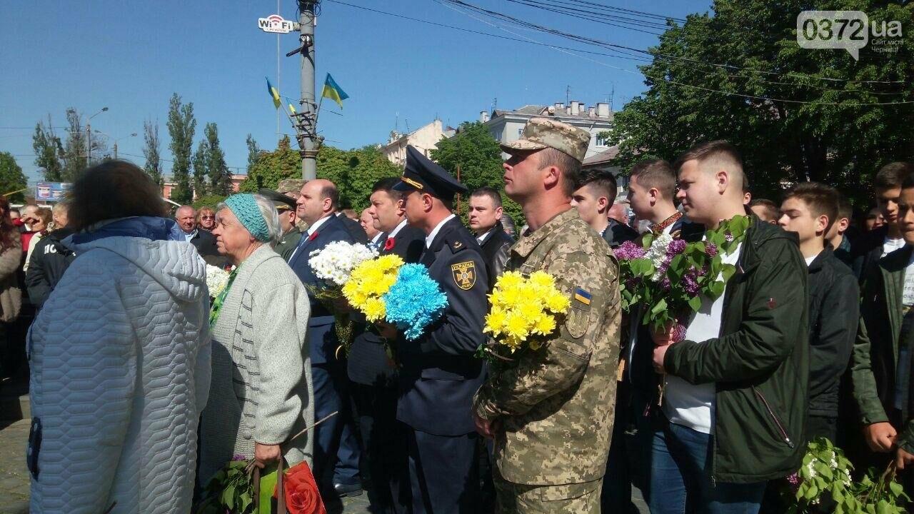В Чернівцях вшанували пам'ять загиблих воїнів в Другій світовій війні (ФОТО), фото-75
