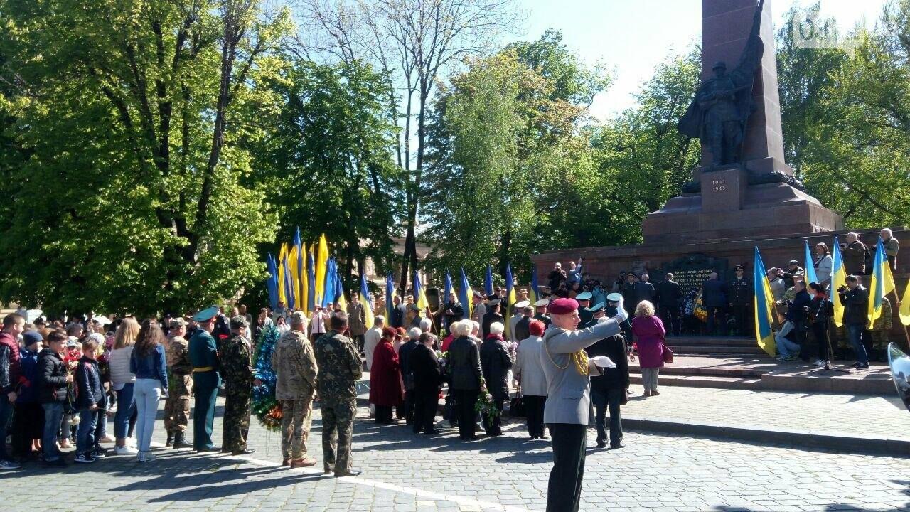 В Чернівцях вшанували пам'ять загиблих воїнів в Другій світовій війні (ФОТО), фото-80
