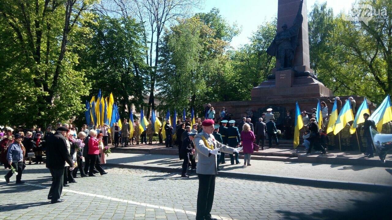 В Чернівцях вшанували пам'ять загиблих воїнів в Другій світовій війні (ФОТО), фото-83