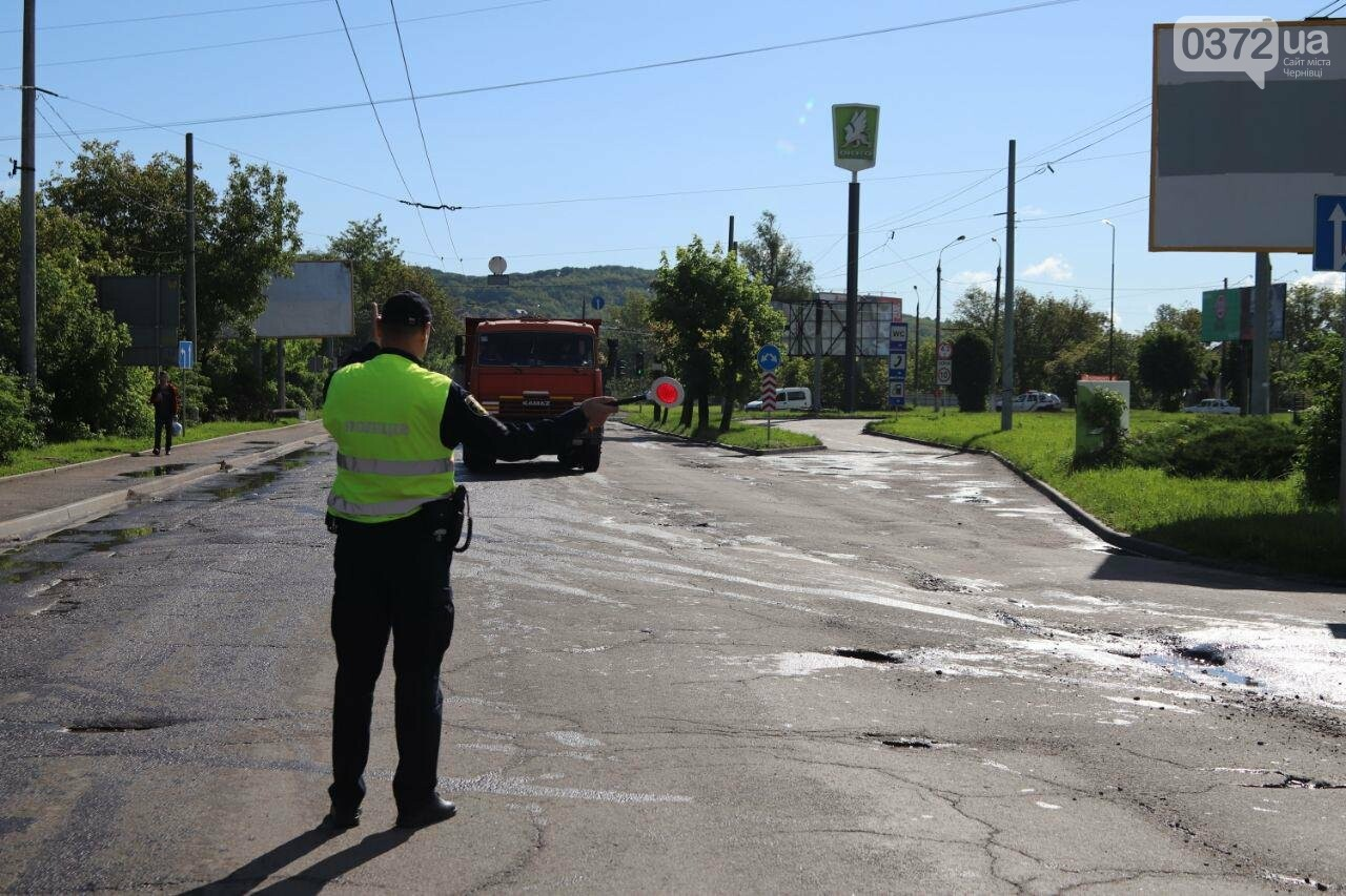 Чернівецькі активісти перекрили вулицю Хотинську, фото-6