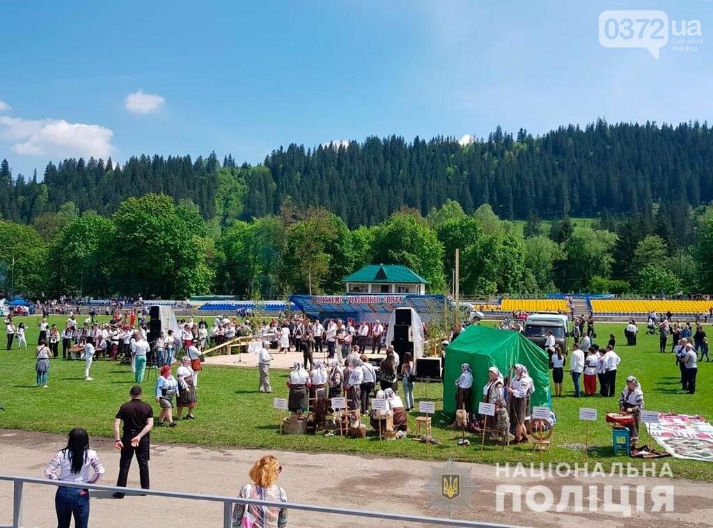 Поліція охороняє безпеку учасників і гостей «Полонинської ватри», фото-1