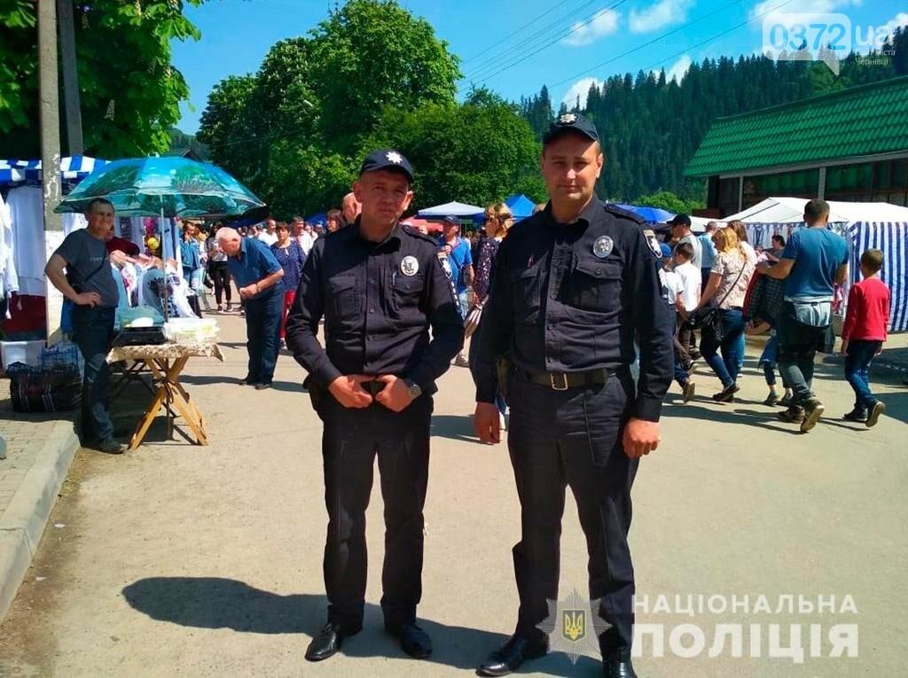 Поліція охороняє безпеку учасників і гостей «Полонинської ватри», фото-3