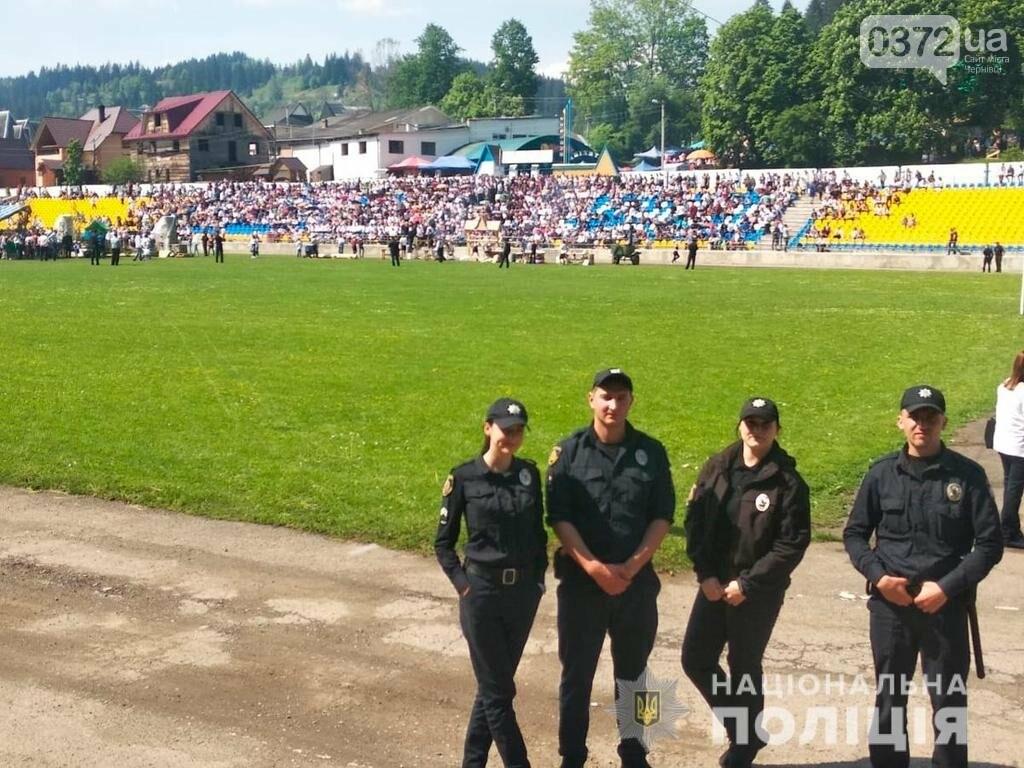 Поліція охороняє безпеку учасників і гостей «Полонинської ватри», фото-4