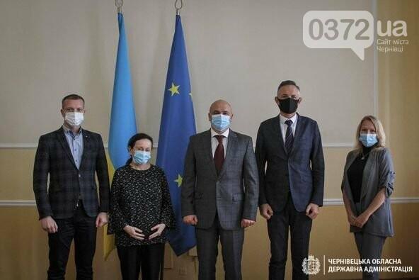 Представниця ООН Оснат Лубрані обговорила низку питань із чернівецькими чиновниками