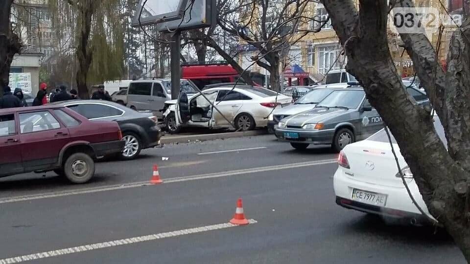 ДТП у Чернівцях сьогодні