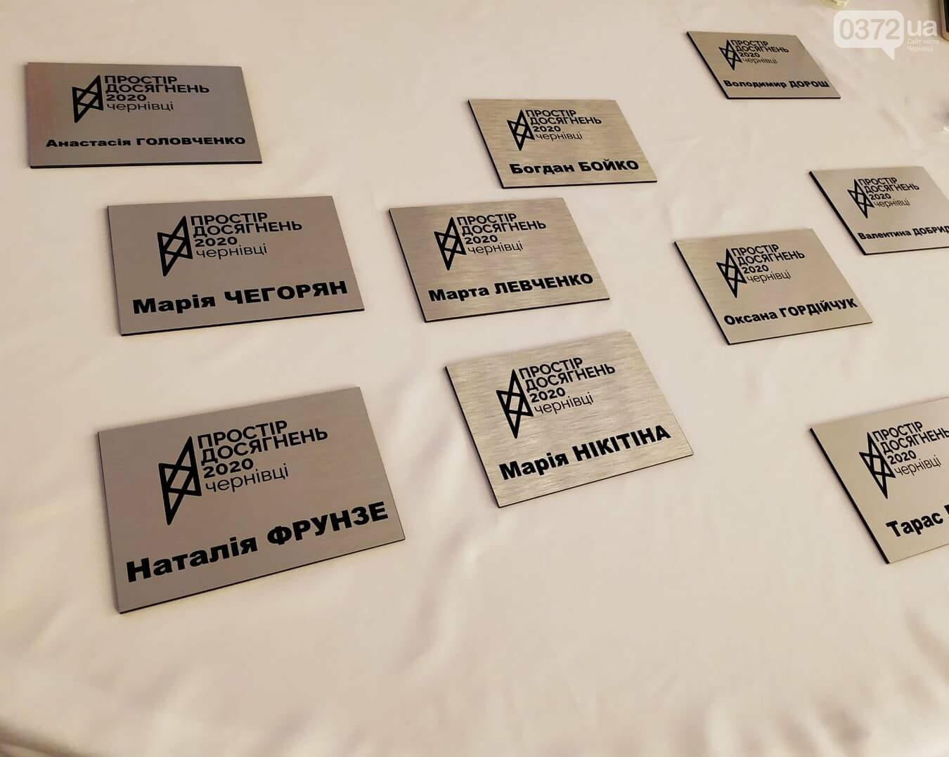 Нагороди громадським активістам від організаторів форуму