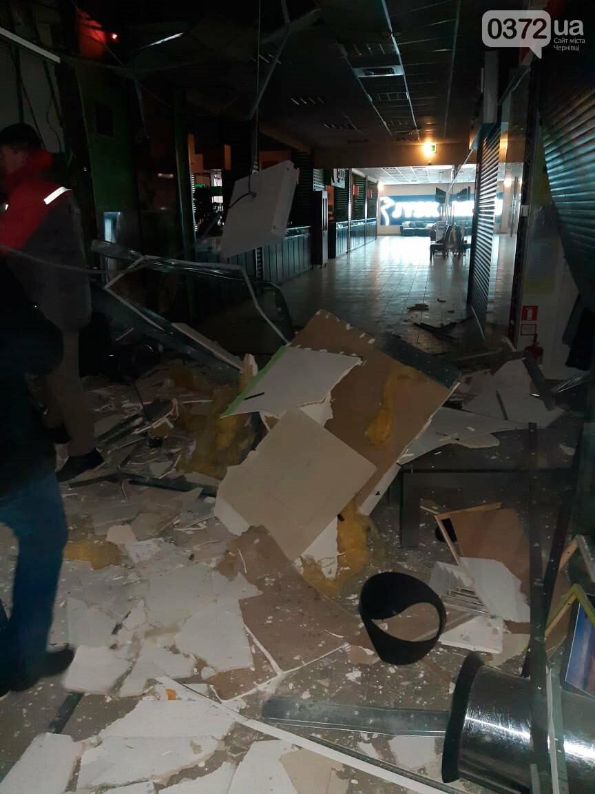 пошкодження після вибуху у ТЦ Майдан