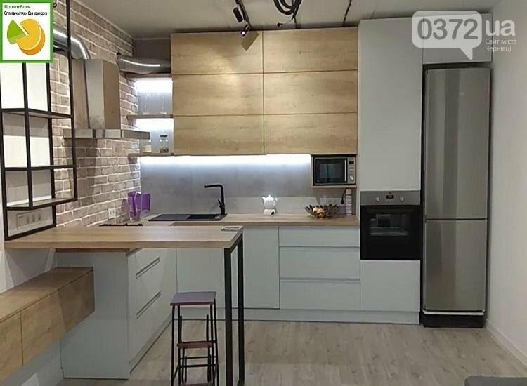 П-подібна кухня з барною стійкою: стильний та практичний гарнітур, фото-3