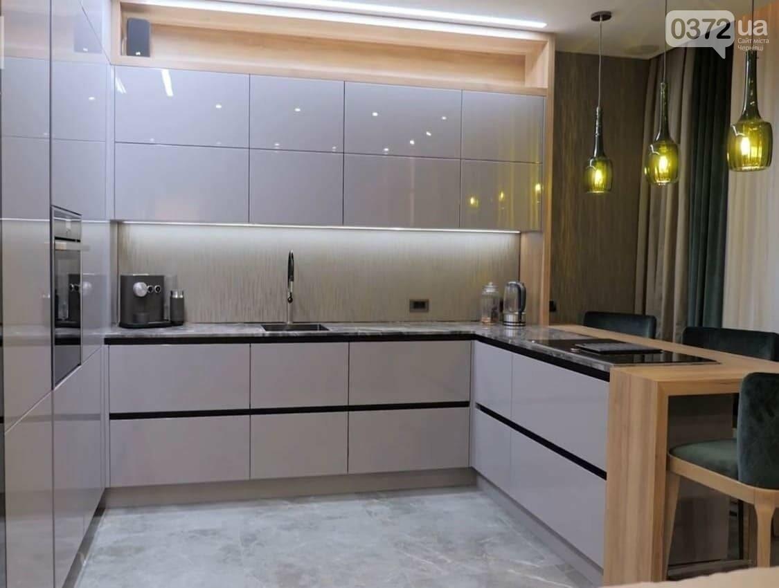 П-подібна кухня з барною стійкою: стильний та практичний гарнітур, фото-2