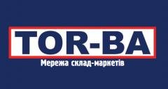 Логотип - TOR-BA, мережа склад - маркетів Чернівці