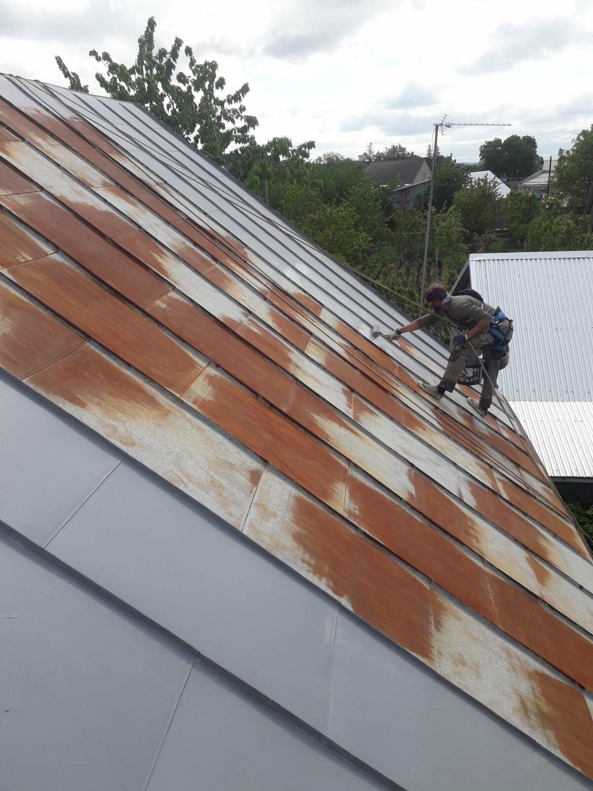фарбування дахів, Захід Пром Альп